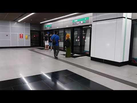 [MRT Malaysia] SBK Line - 2 Siemens Inspiro Trains Departing Maluri