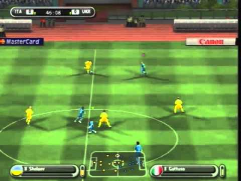 Let´s Play Together UEFA Euro 2008 [PS2/480p] Part 1