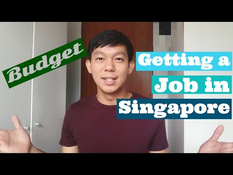 JOB In SINGAPORE   Budget   Filipino In Singapore