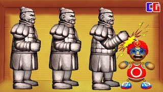 ANTISTRESS AGAINST THE TERRACOTTA ARMY! Destroy in any way - Kick the Buddy