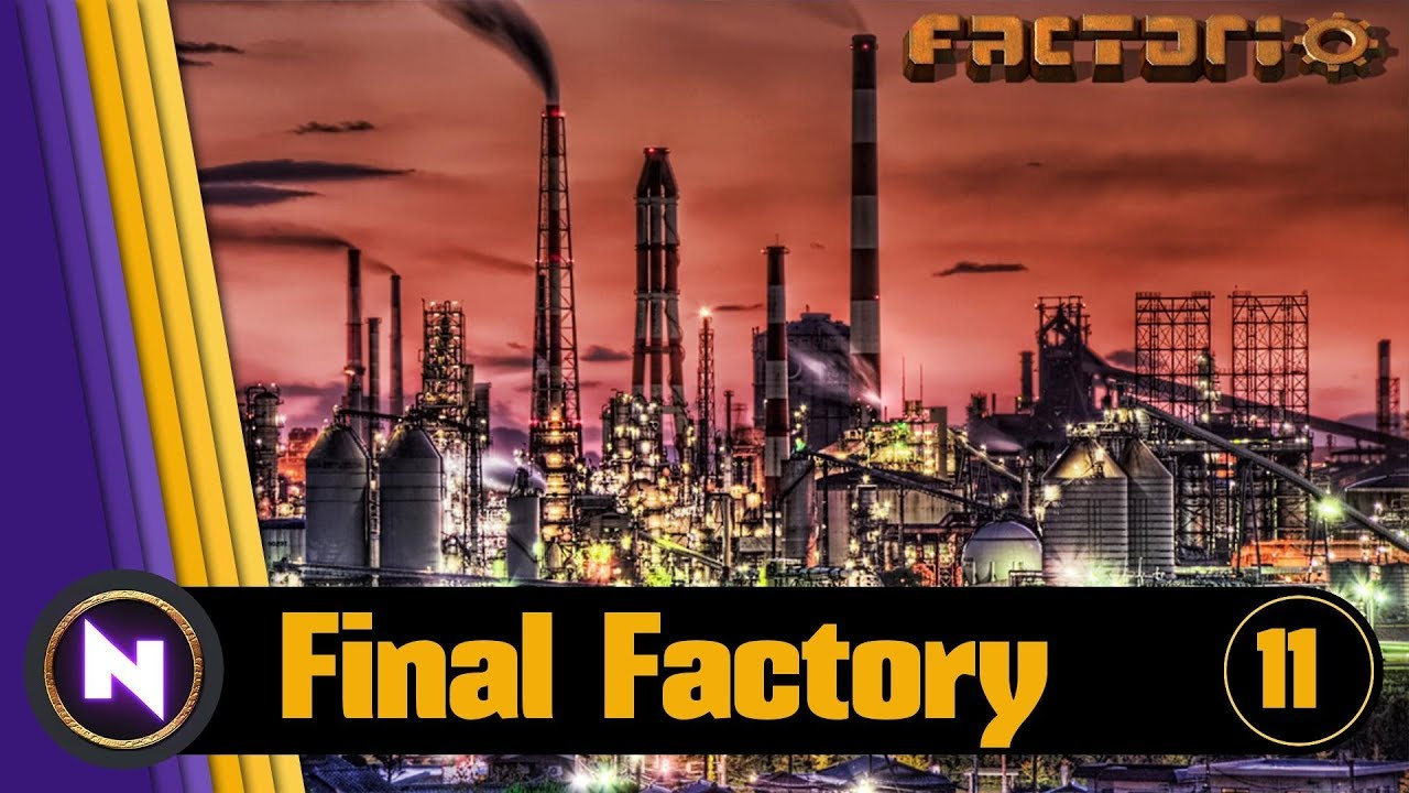 Factorio 0 16 - Final Factory #11 RED CIRCUITS AND BELTS