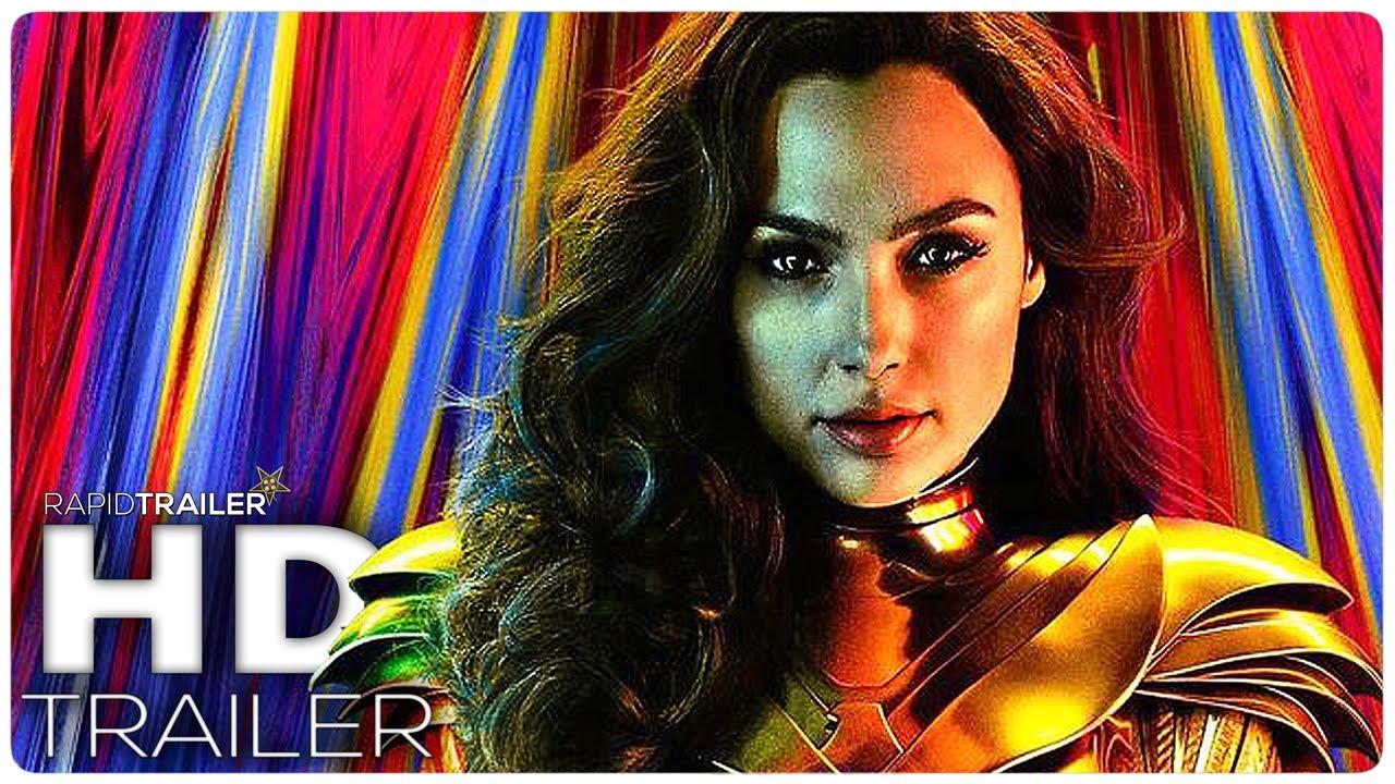 WONDER WOMAN 2: 1984 Official Trailer (2020) Gal Gadot, Chris Pine Superhero Movie HD