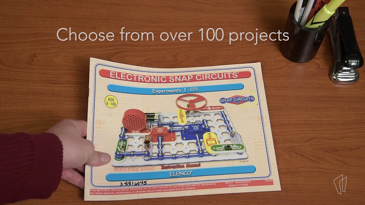 Steam Kit Snap Circuits Youtube Elenco Electronics Mini Basic Electricity Toys