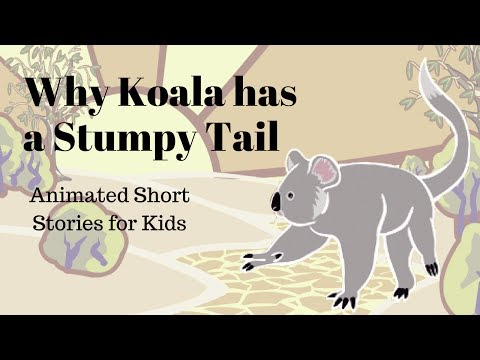Why Koala Has a Stumpy Tail (Animated Stories for Kids)