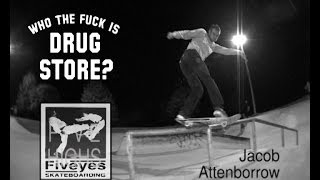 Jacob Attenborrow Five Highs No19 DRUG STORE SKATEBOARDING, Happy B...