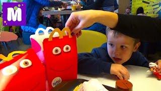 Супер Марио игрушки Хеппи Мил МакДональдс Super Mario toys Unboxing Happy Meal McDonalds