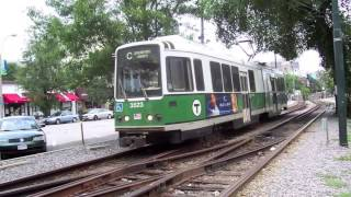 mbta Green Line old and new