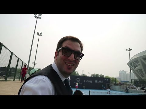 ATP China open Beijing part 2 playing magic with David Ferrer