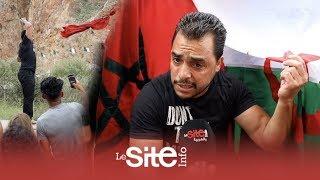فيديو مؤثر.. جزائريون يطلبون العلم المغربي على الحدود وهكذا وصلهم