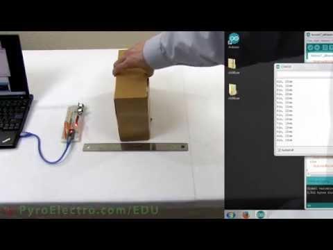 Ultrasonic Proximity Sensor - An Introduction To Sensors - PyroEDU