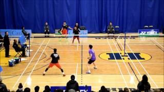 2017 01 06 Yonex Toronto Open MD F Br Sankeerth & Toby Ng vs Arya Aldiartama & Jason Ho Shue