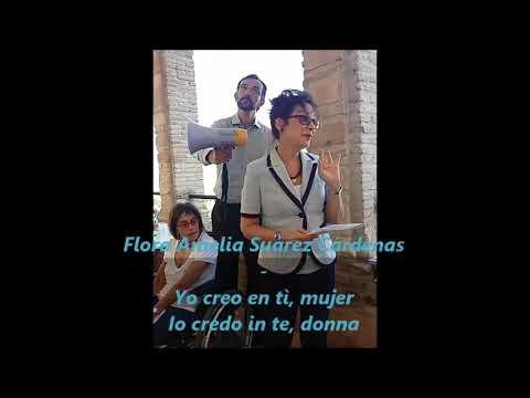 """Media Memoriae - Flora Amelia Suárez Cárdenas - """"Yo creo en tì, mujer - Io credo in te, donna"""""""