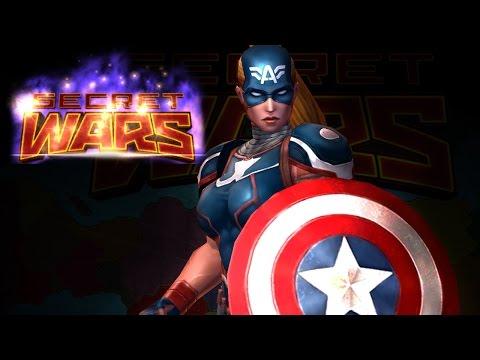 Marvel: Future Fight - Female CAPTAIN AMERICA 2099! [Secret Wars]