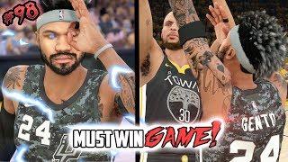 INTENSE MUST WIN GAME! Most INSANE Ending! NBA 2k18 MyCAREER Ep.98