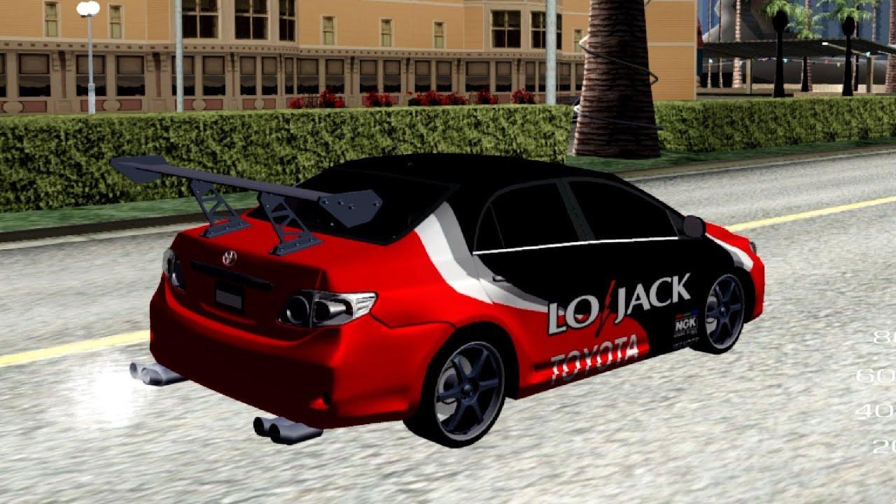 435 2012 Toyota Corolla LOJACK Racing