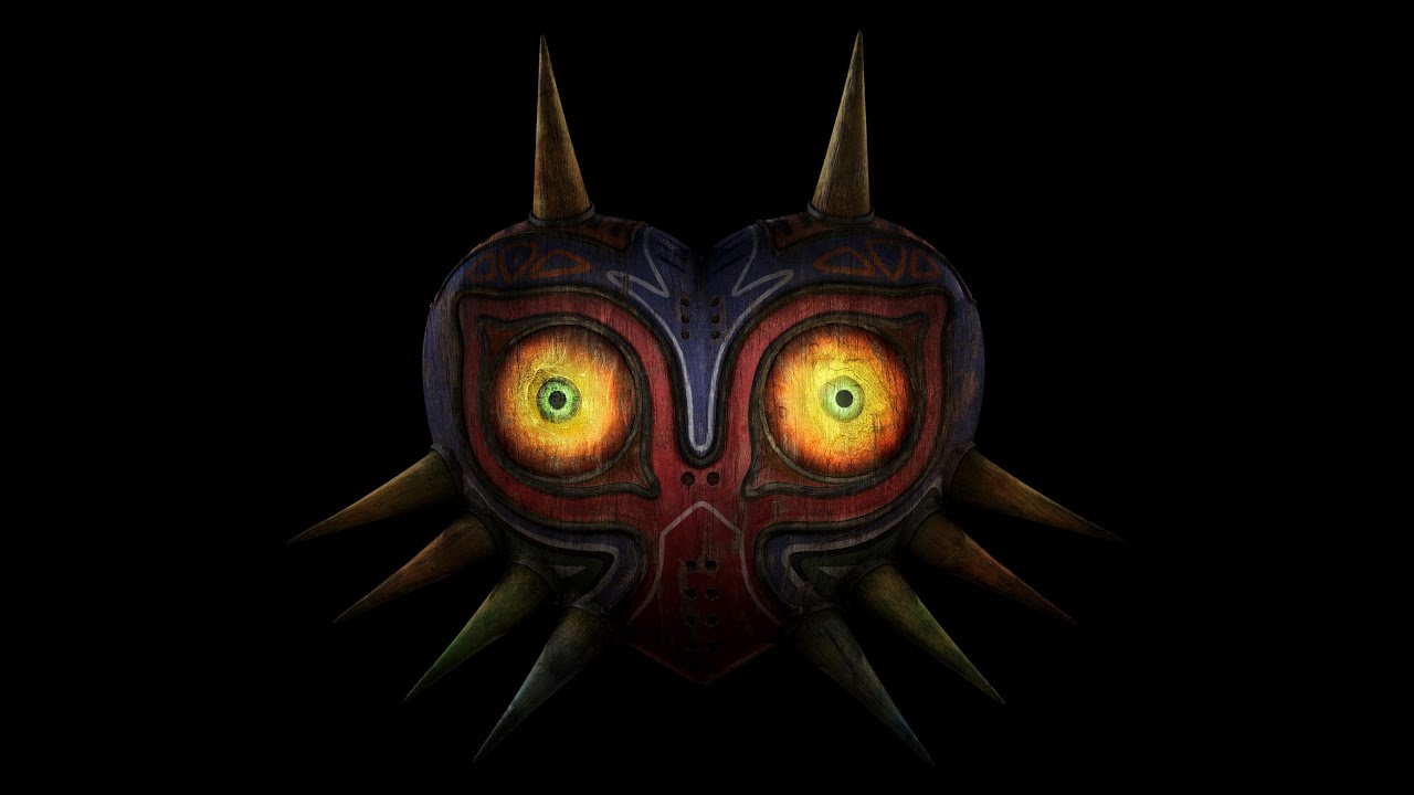Majora S Mask Desktop Background: The Legend Of Zelda: Majora's Mask- Final Hour V2