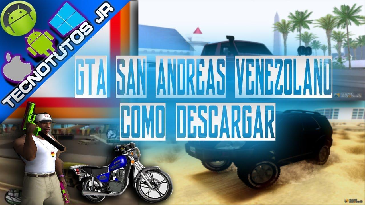 descargar gta san andreas mod venezuela pc