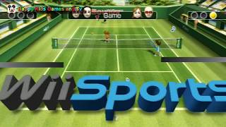 Wii Sports - Tennis - Best Games For Kids - Happy Kids Games And Tv - 1080p