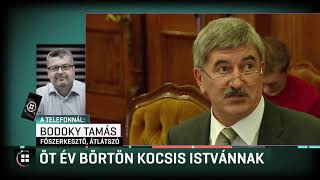 Öt év börtön Kocsis Istvánnak 19-11-26