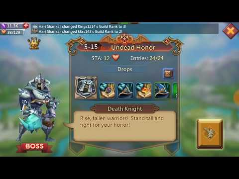Best Heroes Of Level 5-15 Elite Mode In Lord Mobile Game