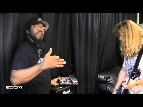 Dave Mustaine Demos Effects On Signature Zoom G2.1DM Pedal | Musician's Friend