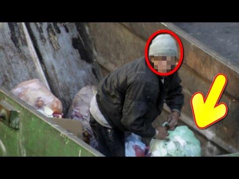 كان ينبش في القمامة وعثر صدفة على أشياء مهمة ثم بحث عن صاحبها ليرجعها له... برافو راجل ونص