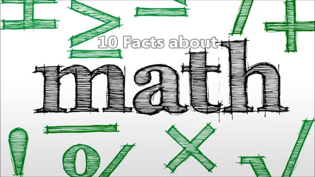 10 Facts about Math - YouTube