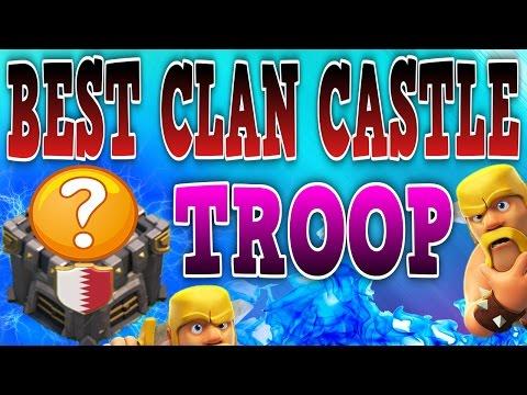 CLASH OF CLANS - WORLDS BEST CLAN CASTLE TROOP!