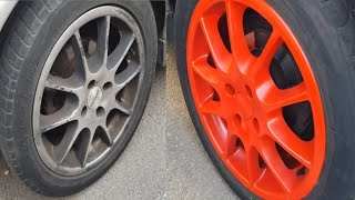 PAINTING RIMS ON MY OPEL ASTRA G SPORT