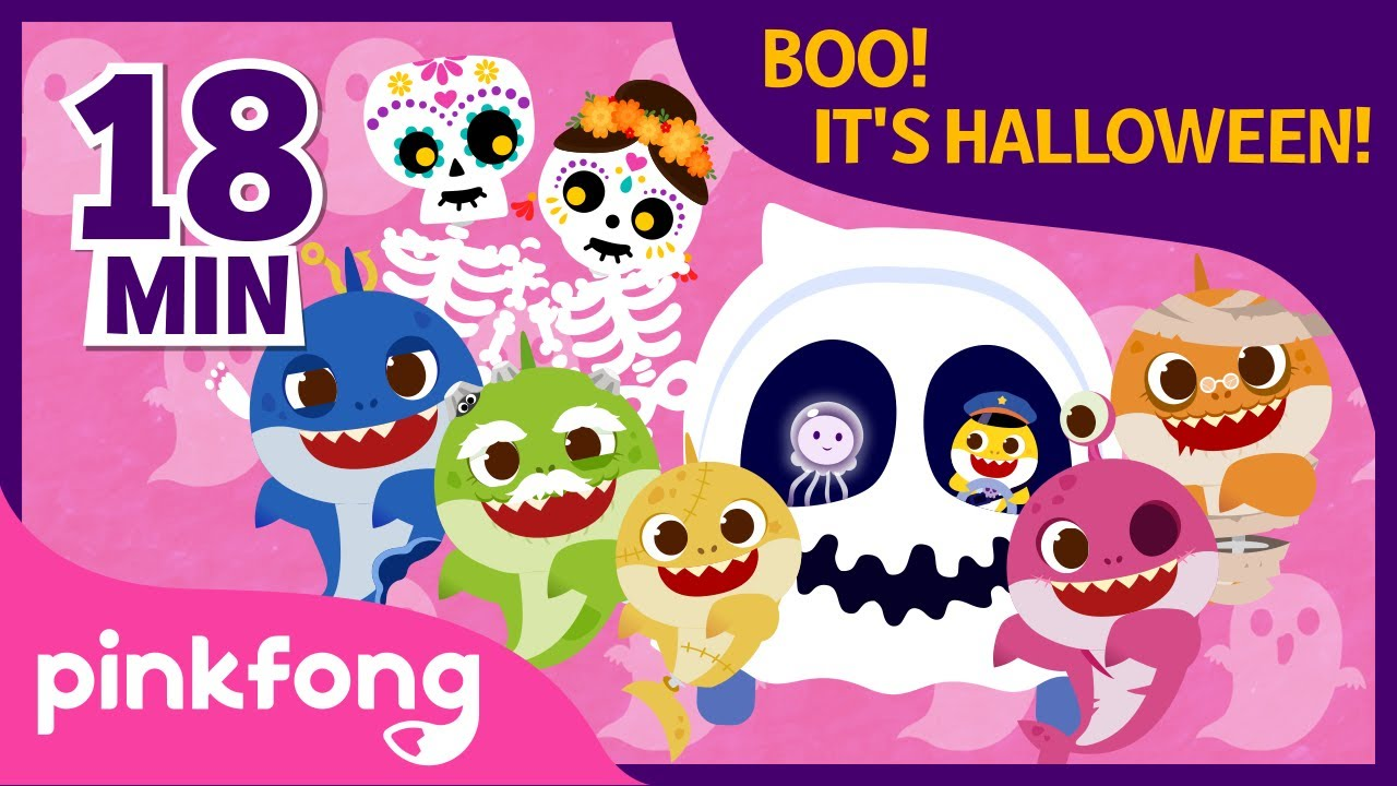 Best Pinkfong Halloween Songs | +Compilation | Baby Shark Halloween | Halloween Songs for Children