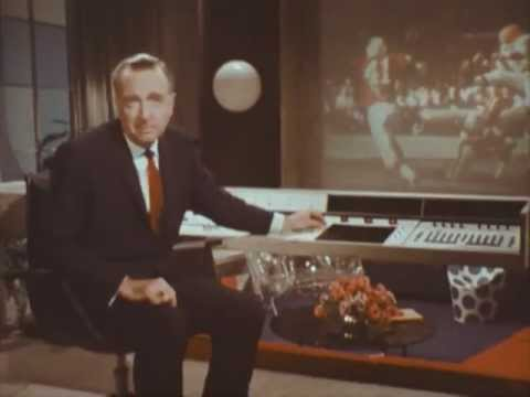 Walter Cronkite in the Living Room of 2001 (1967)