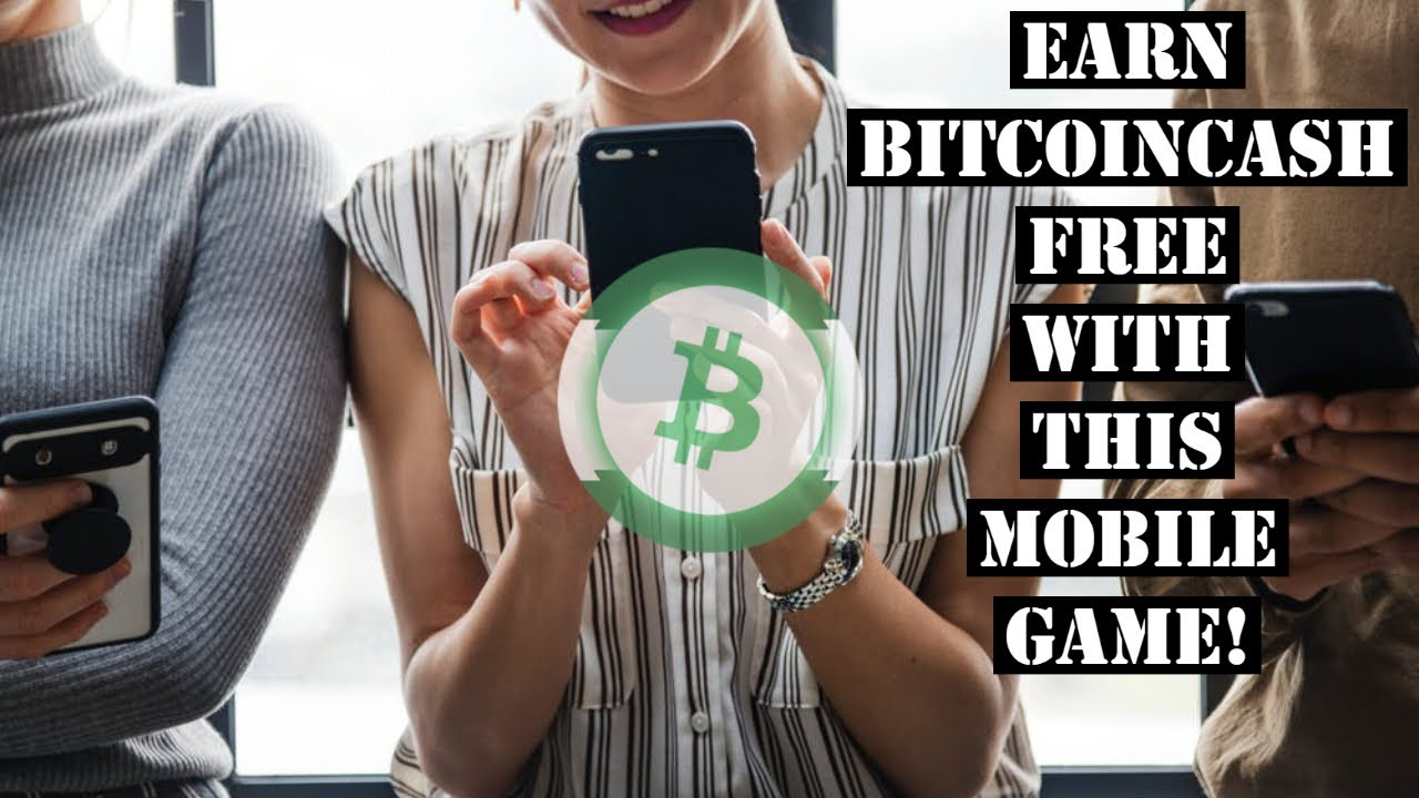 Free Bitcoin Cash With This Fun Easy Mobile Game App, Payment Proof