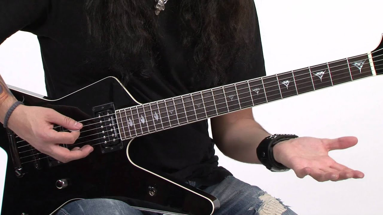 lick of the day gus g fluid d dorian legato with loop