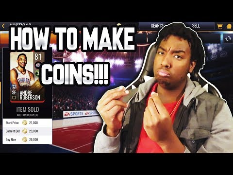 THE BEST WAYS TO MAKE COINS IN NBA LIVE MOBILE 19!!!