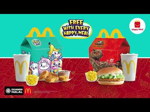 Happy Meal Adventure with Jurassic World & Pikmi Pops
