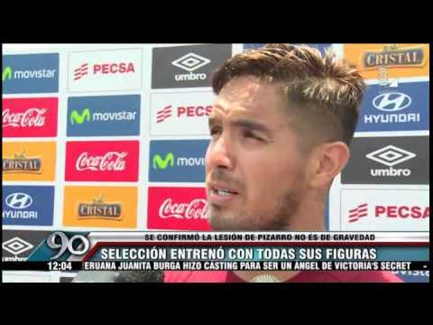 Juan Vargas vaciló de lo lindo a Claudio Pizarro