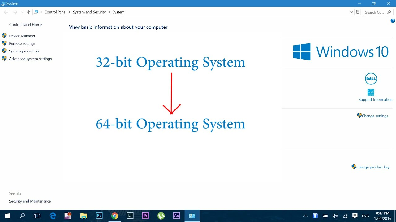 win 7 upgrade from 32 to 64 bit