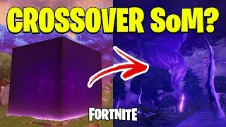 FORTNITE-WHAT'S NEW ABOUT THE CUBE + CROSSOVER SAVE THE FREE WORLD??