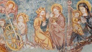 Fresques médiévales de la chapelle Saint-Vincent – Puy-Saint-Vincent (Vallouise, Hautes-Alpes)