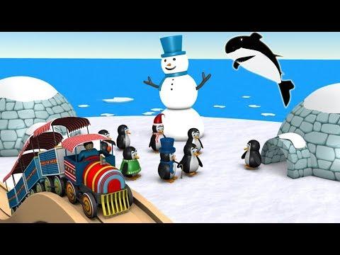 Trains For Children - Toy Factory - Cartoon - Choo Choo Train - Trains for kids - Train