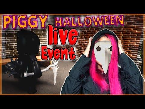Youtube Roblox Halloween Events Piggy Halloween Event Roblox Live Stream Lisbokate Oct 17 Youtube