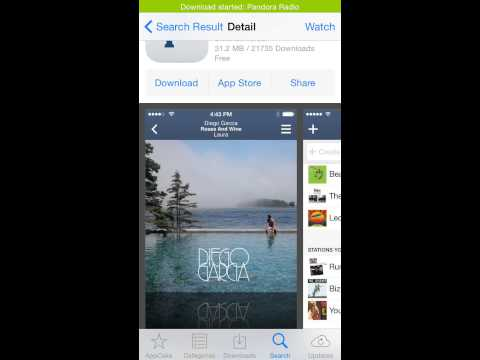 Pandora Downloader For IOS 8