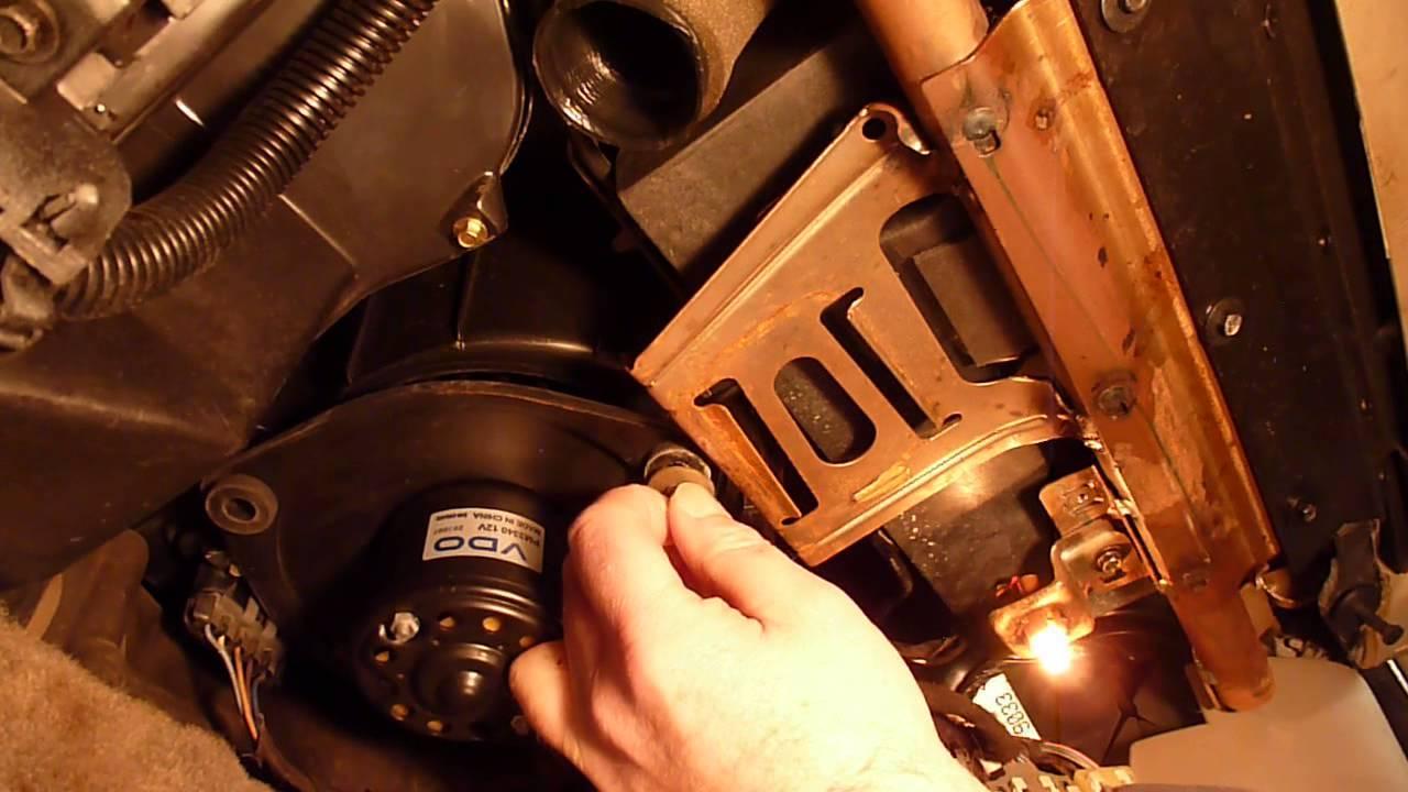 Blower Motor Resistor Replacement 2001 Chevy Malibu 1314  YouTube