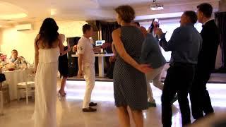 Сюрприз для молодоженов на свадьбе - дуэт Славич и Юлия