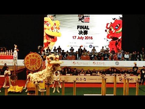 2016 Genting World Lion Dance Winner - 關聖宮龍獅團 [9.29]