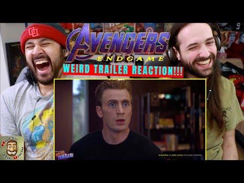 AVENGERS: ENDGAME Weird Trailer | FUNNY SPOOF PARODY by Aldo Jones - REACTION!!!