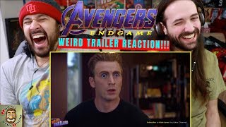 AVENGERS: ENDGAME Weird Trailer | FUNNY SPOOF PARODY by Aldo Jones - REACTION!!!