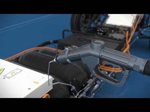 B-Klasse F-CELL - Die Funktionsweise des Elektrofahrzeugs mit Brennstoffzelle