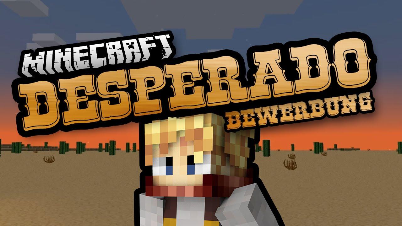Minecraft Desperado Bewerbung Der Schmied Dissidius Minecraft