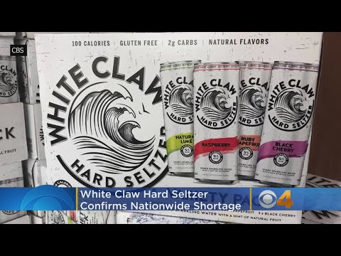 Fisher & Mattie in the Morning - Say It Ain't So! White Claw Hard Seltzer Under A Nationwide Shortage